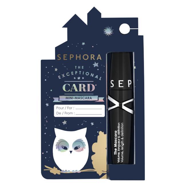 The Exceptional Card Mini-Mascara
