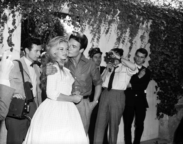 Il matrimonio di Brigitte Bardot e Jacques Charrier