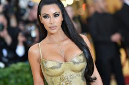 Kim Kardashian al MET Gala
