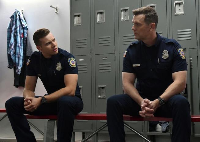 9-1-1: una scena dall'episodio 1x02