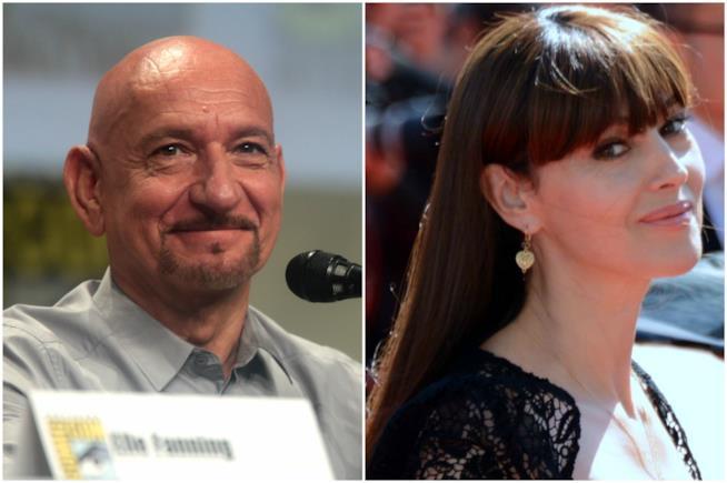 Monica Bellucci e Ben Kingsley