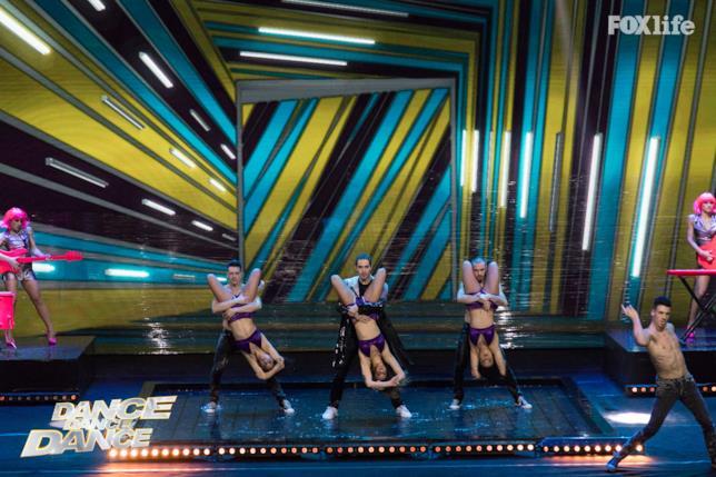 Tommaso Zorzi nell'esibizione singola del settimo serale di Dance Dance Dance 2