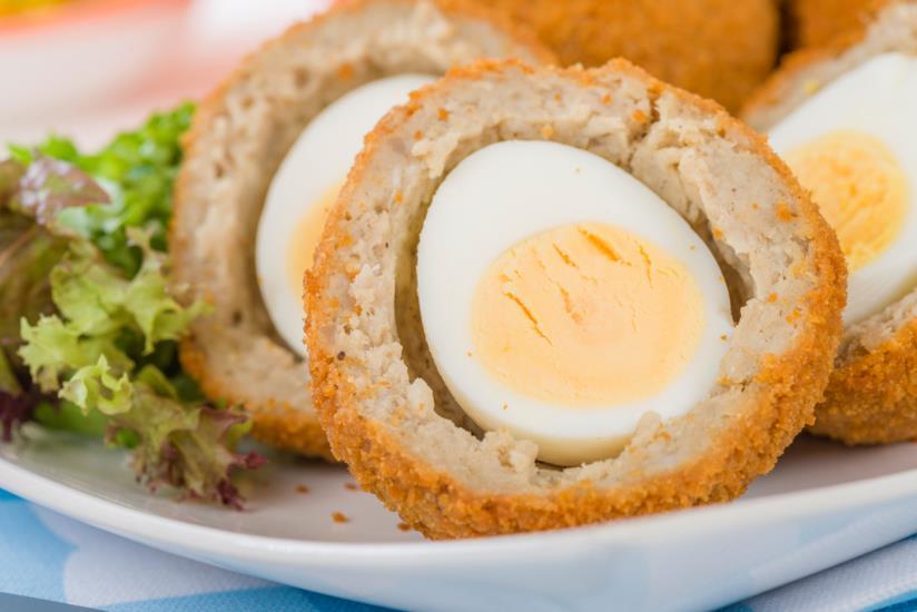 Uovo sodo alla scozzese fritto