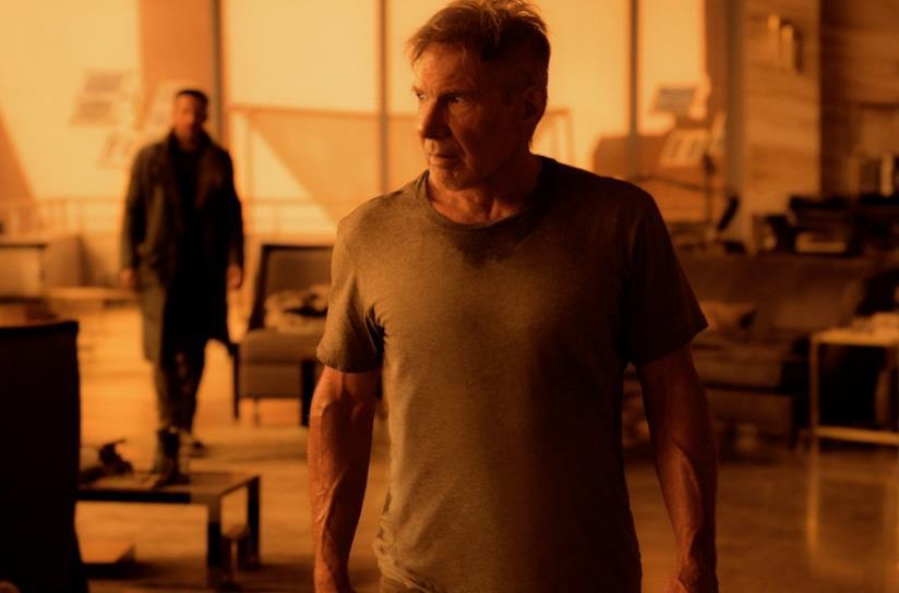 Harrison Ford e Ryan Gosling in Blade Runner 2049