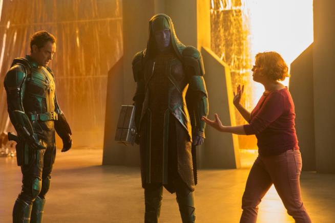 Captain Marvel: Lee Pace sul set