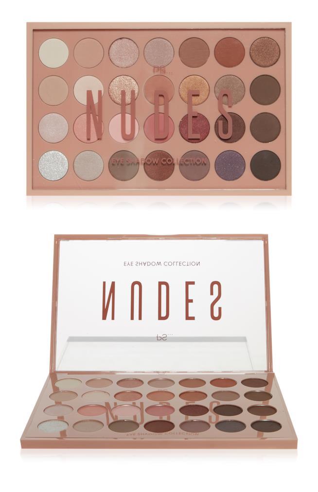 PS... Nudes 28 Shade Eye Shadow Palette Primark
