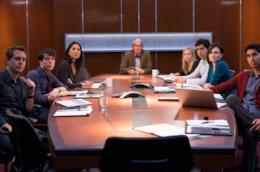Una scena di The Newsroom, una delle migliori serie sui giornalisti
