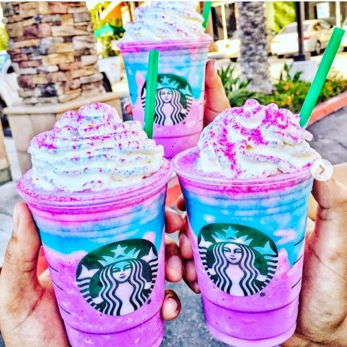 Il famoso Unicorn Frappuccino