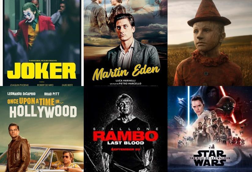 Da Joker a Star Wars, le locandine dei film da vedere al cinema