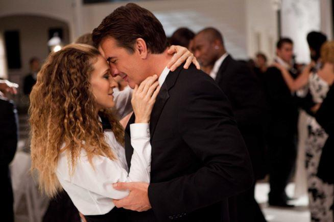 Sarah Jessica Parker e Chris Noth in Sex and The City