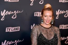 L'attrice Hilary Duff