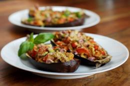 Ricetta melanzane ripiene al forno vegetariane