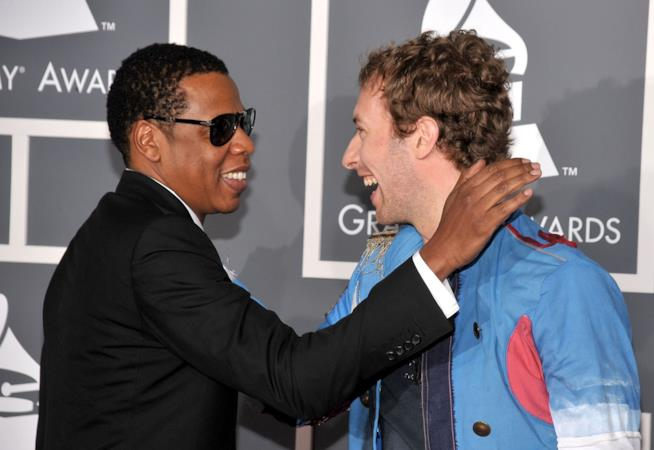 Jay Z e Chris Martin