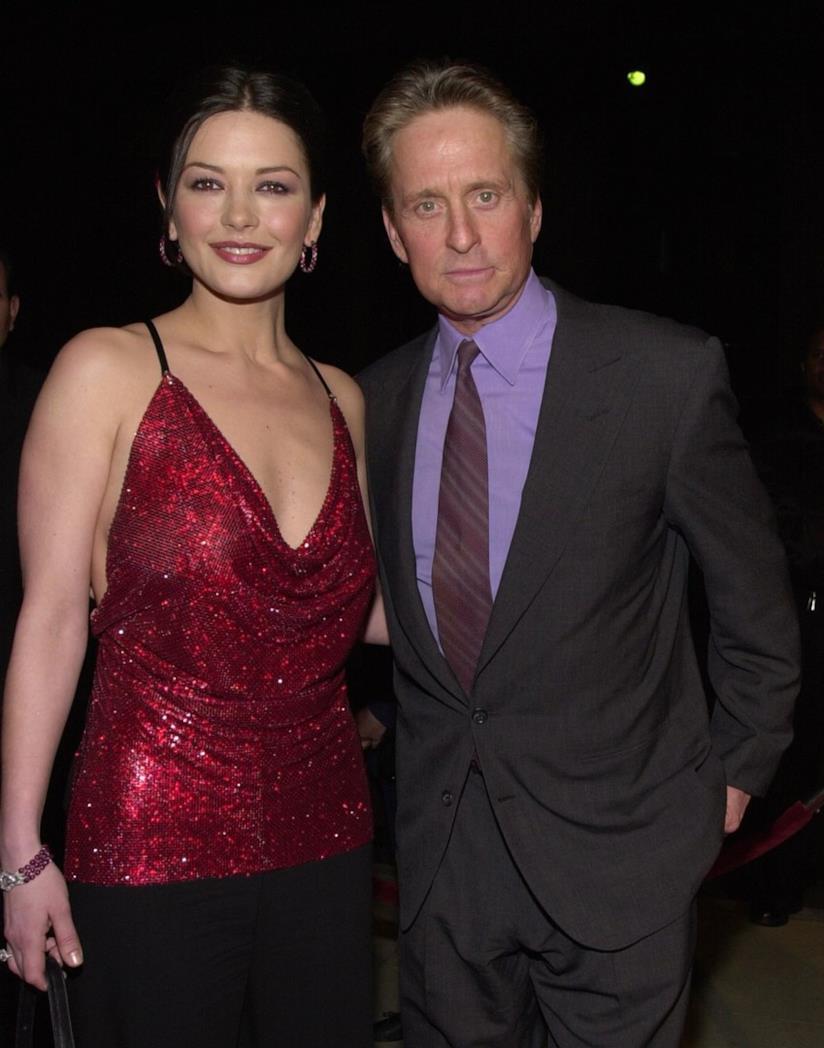Catherine Zeta-Jones e Michael Douglas negli anni 2000