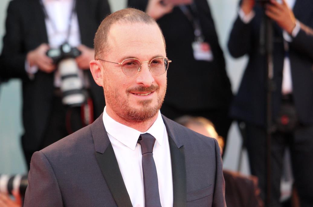 Il regista Darren Aronofsky sul red carpet di Madre!
