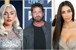 Lady Gaga, Gerard Butler e Kim Kardashian