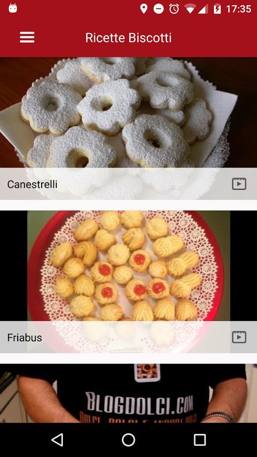 Ricette dolci