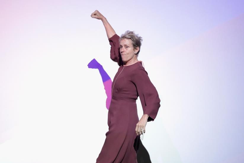 Frances McDormand alla prèmiere di Tre manifesti a Ebbing, Missouri