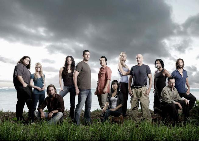 Il cast originario della serie TV Lost