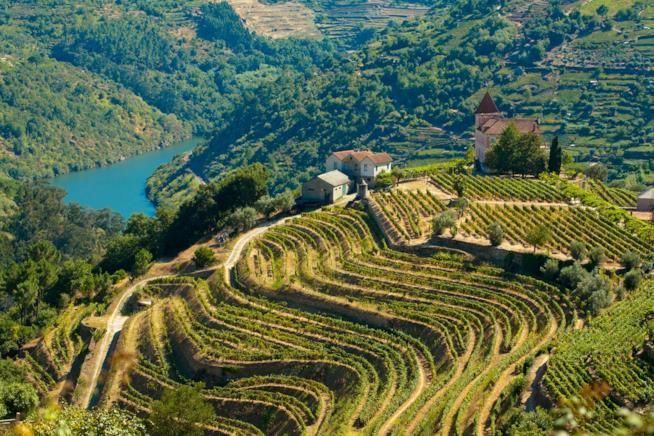 Fiume Duero in Portogallo