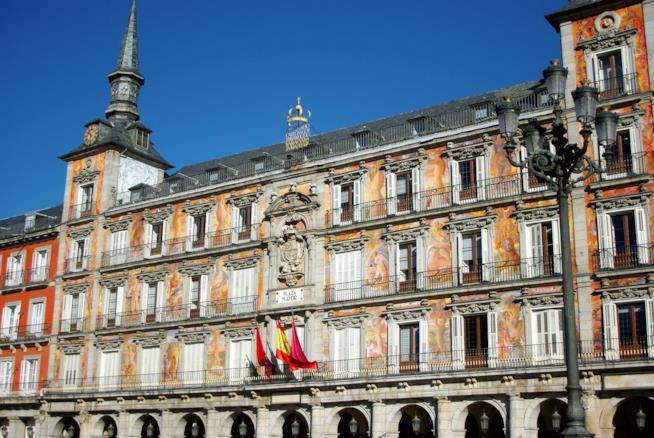 La piazza più bella di Madrid: Plaza Mayor