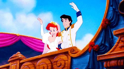 Una scena dal Classico Disney La Sirenetta