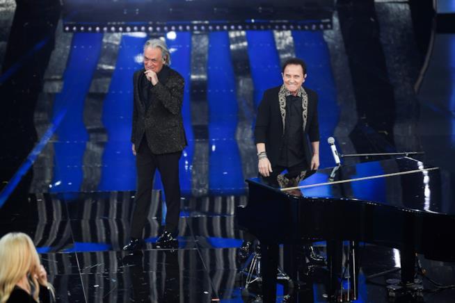 """La canzone """"Il segreto del tempo"""" di Roby Facchinetti e Riccardo Fogli"""