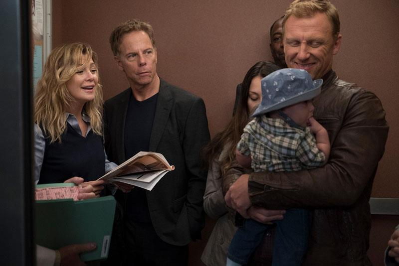 Meredith, Owen e Koracick in Grey's Anatomy 15