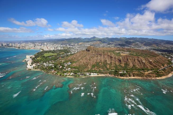 Uno dei luoghi più suggestivi di Oahu: Diamond Head