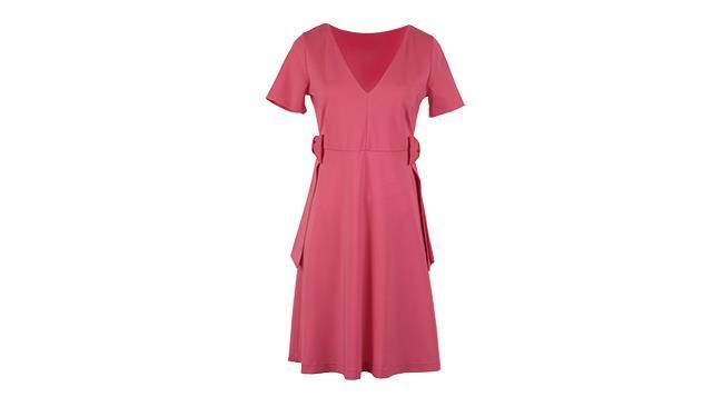 Per Anna Rachele Jeans abito rosa tinta unita