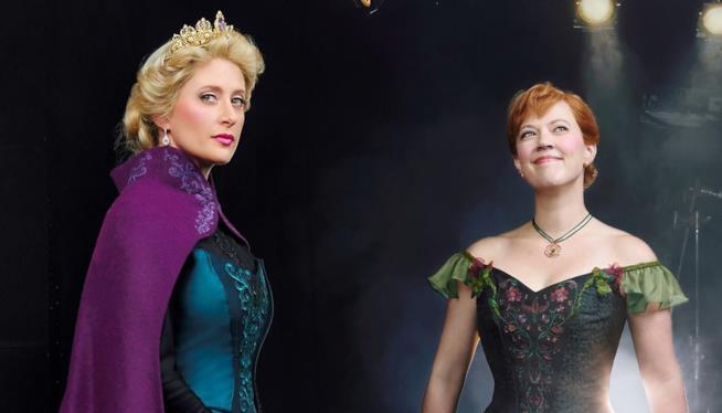 Le protagoniste del musical di Broadway ispirato a Frozen