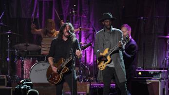 I Foo Fighters ai 59° Grammy Awards