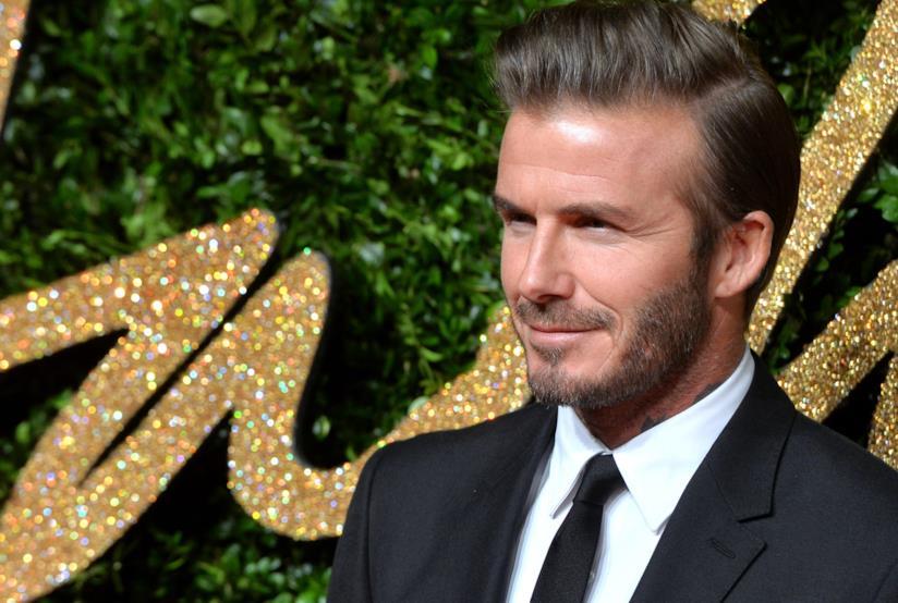 Il calciatore David Beckham