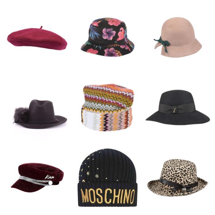 Cappelli di tendenza per l'autunno inverno 2018-19