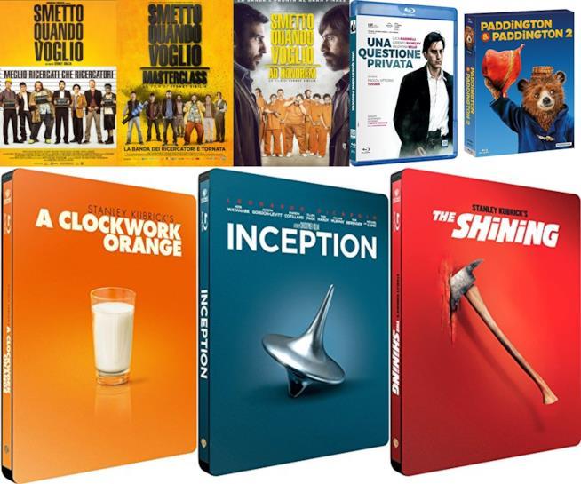 Cofanetti di film in edizione speciale