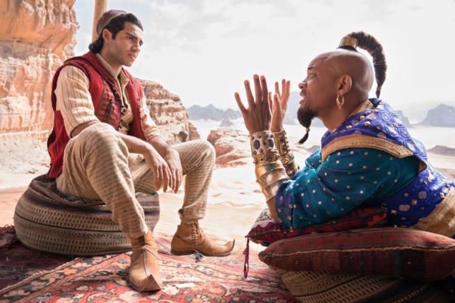 Aladdin, una scena del film