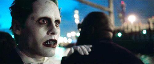 Un primo piano del Joker