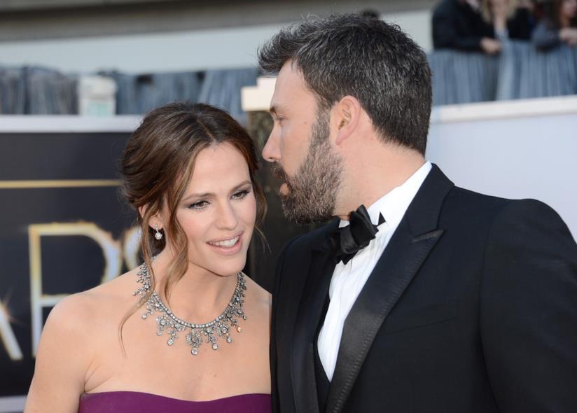 Ben Affleck e Jennifer Garner a un evento