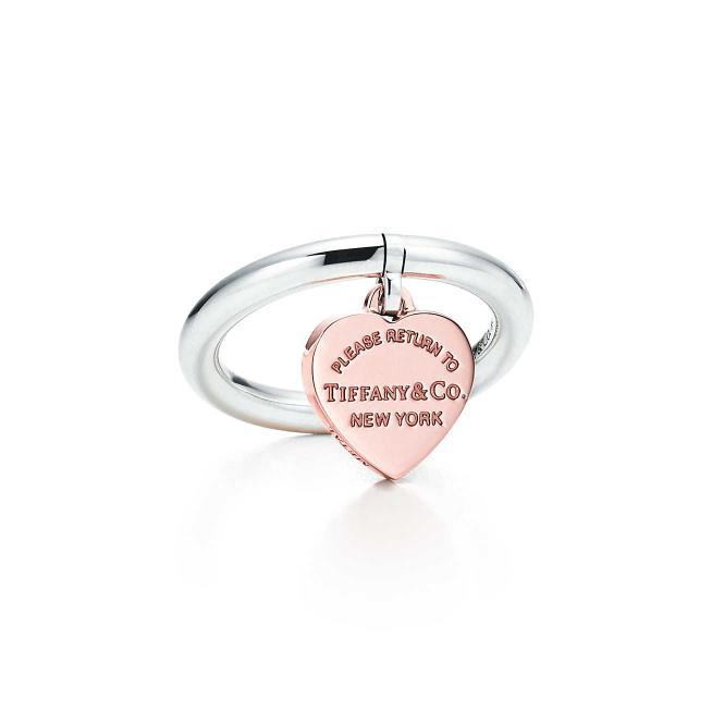 Anello Heart Tag Tiffany per regali di Natale