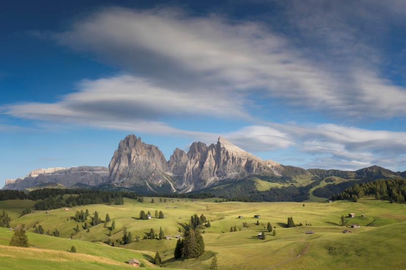 Il magnifico paesaggio dell'Alpe di Siusi, in Sudtirolo