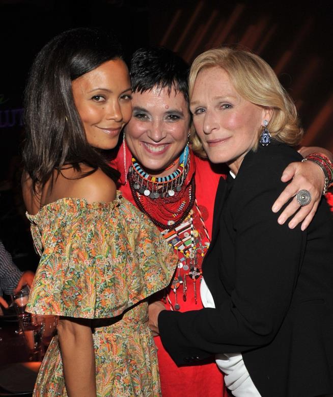 Eve Ensler e Glenn Close