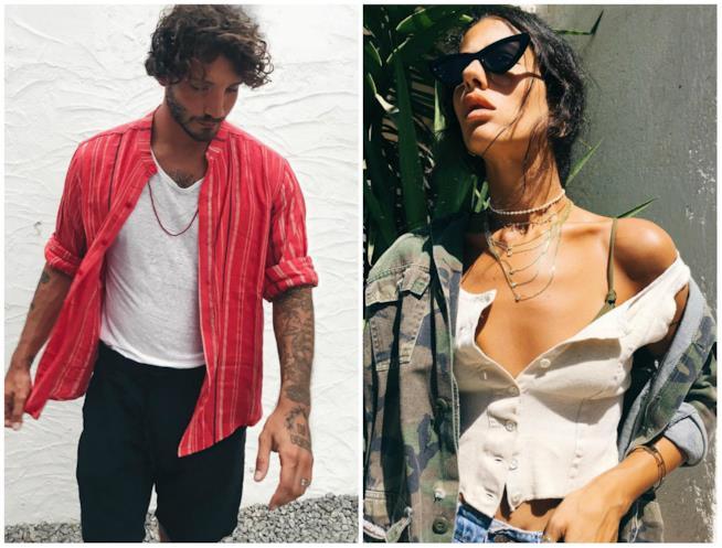 Stefano De Martino e Gilda Ambrosio sui loro profili Instagram