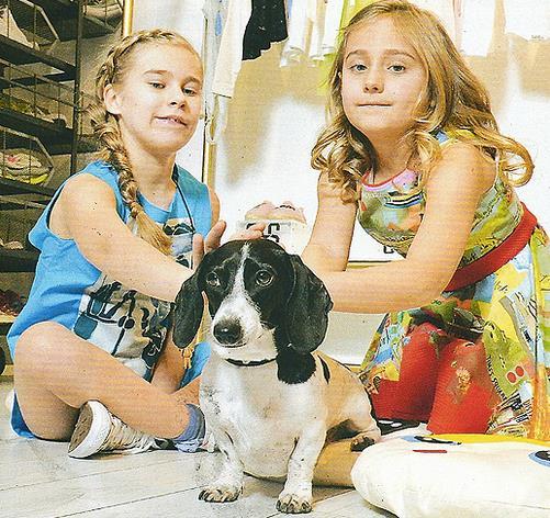Silvia e Adele, le figlie di Paolo e Sonia