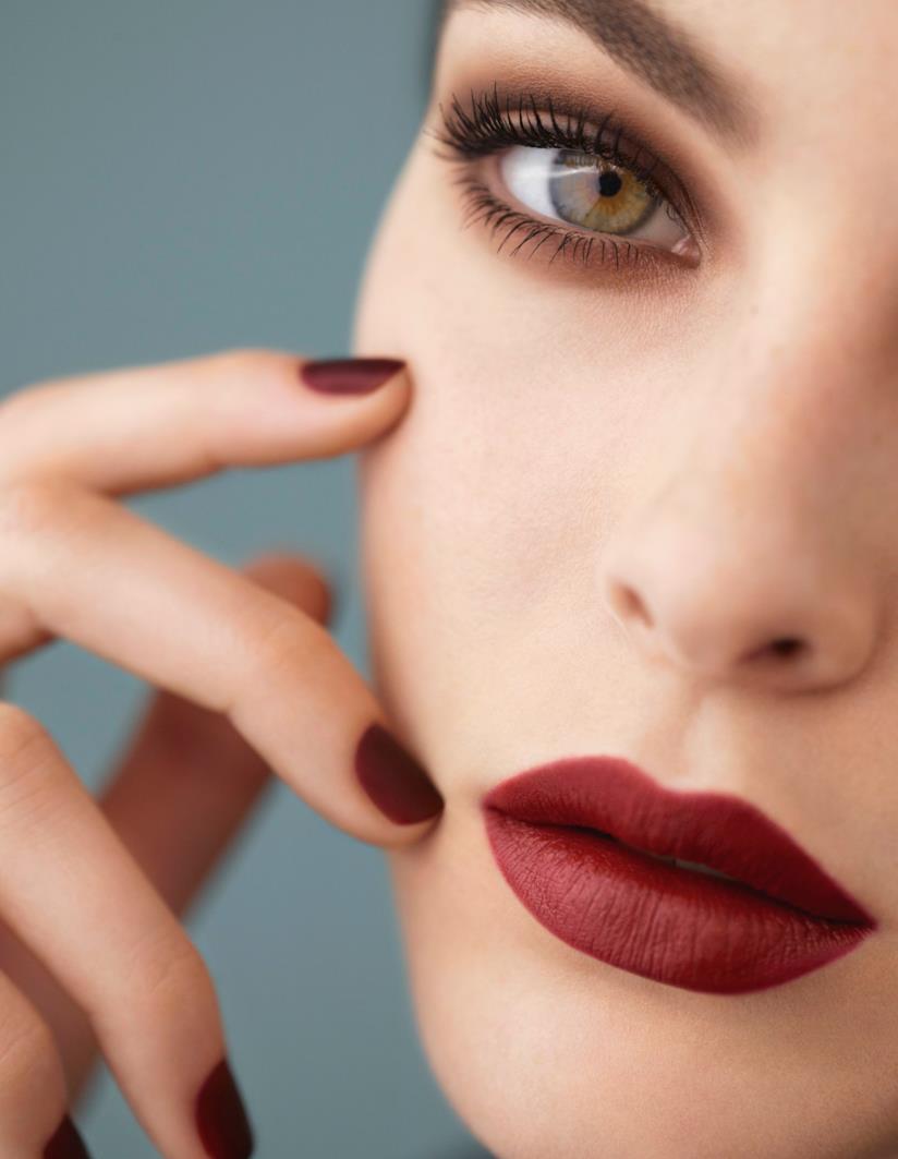 Il beauty look dal finish opaco di Chanel