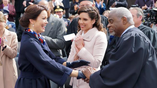 La neo Presidente di Scandal Mellie Grant