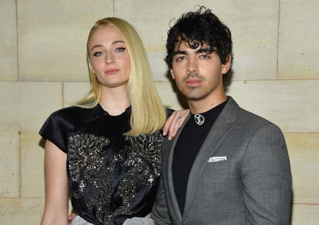 Sophie Turner con Joe Jonas