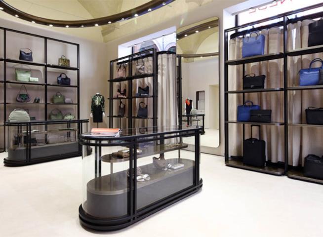 Un flagship store Borbonese