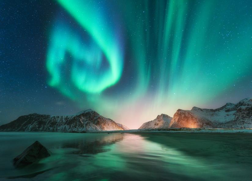 Isole Lofoten in Norvegia: uno dei luoghi migliori dove vedere l'aurora polare