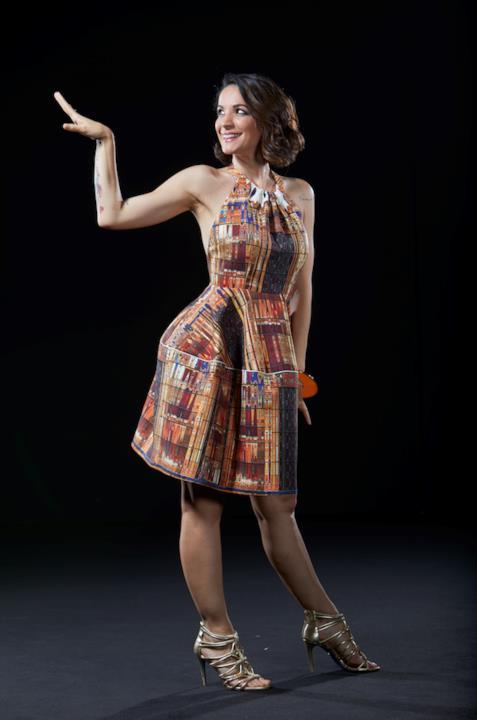 Andrea è pronta a scatenarsi sul palco di Dance Dance Dance