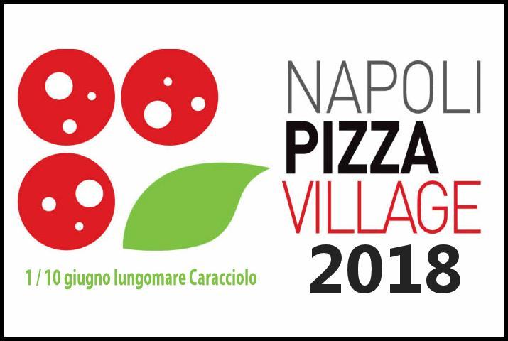 La locandina di Napoli Pizza Village 2018